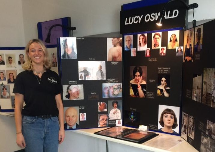 Lucy Oswald – from graduation to her first make-up job with BAFTA winning designer Sallie Jaye