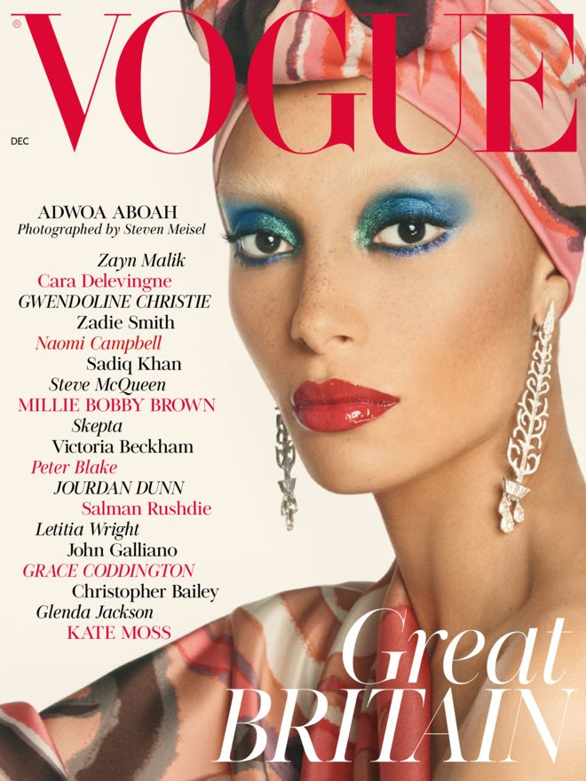 British Vogue – Edward Enninful's December 2017 cover is all change…