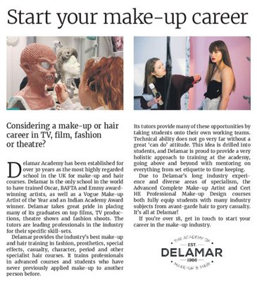 Guardian: Start your make-up career